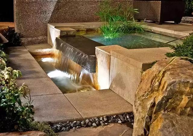 兮木景观:别墅庭院水景设计参考