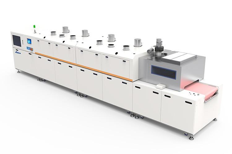 轨道式热风固化炉HCO-4M (带冷却)