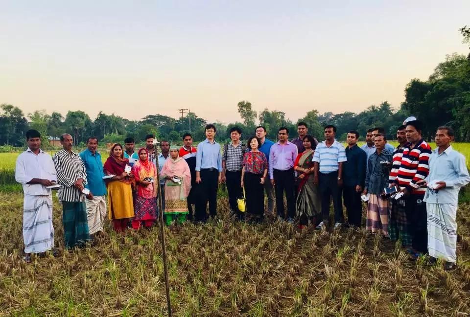 一带一路?电科力量 | 走近孟加拉国智慧农业