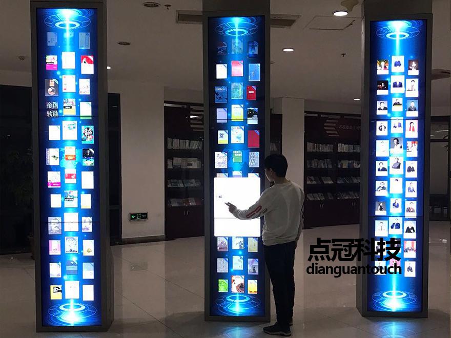 液晶拼接触摸屏互动打造图书馆建设智能化信息平台