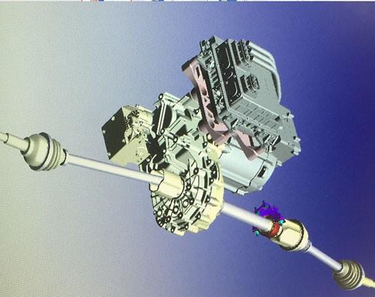 e-Driver Assembly loading EMC test