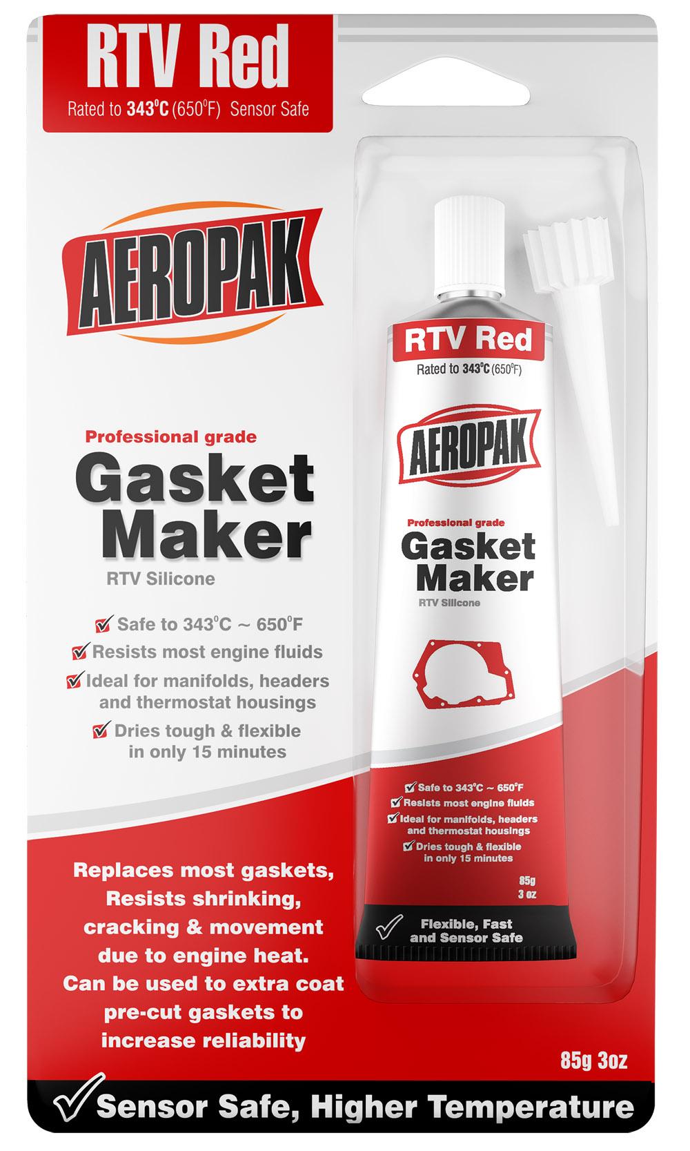 Aeropak RTV Gasket Maker-Red