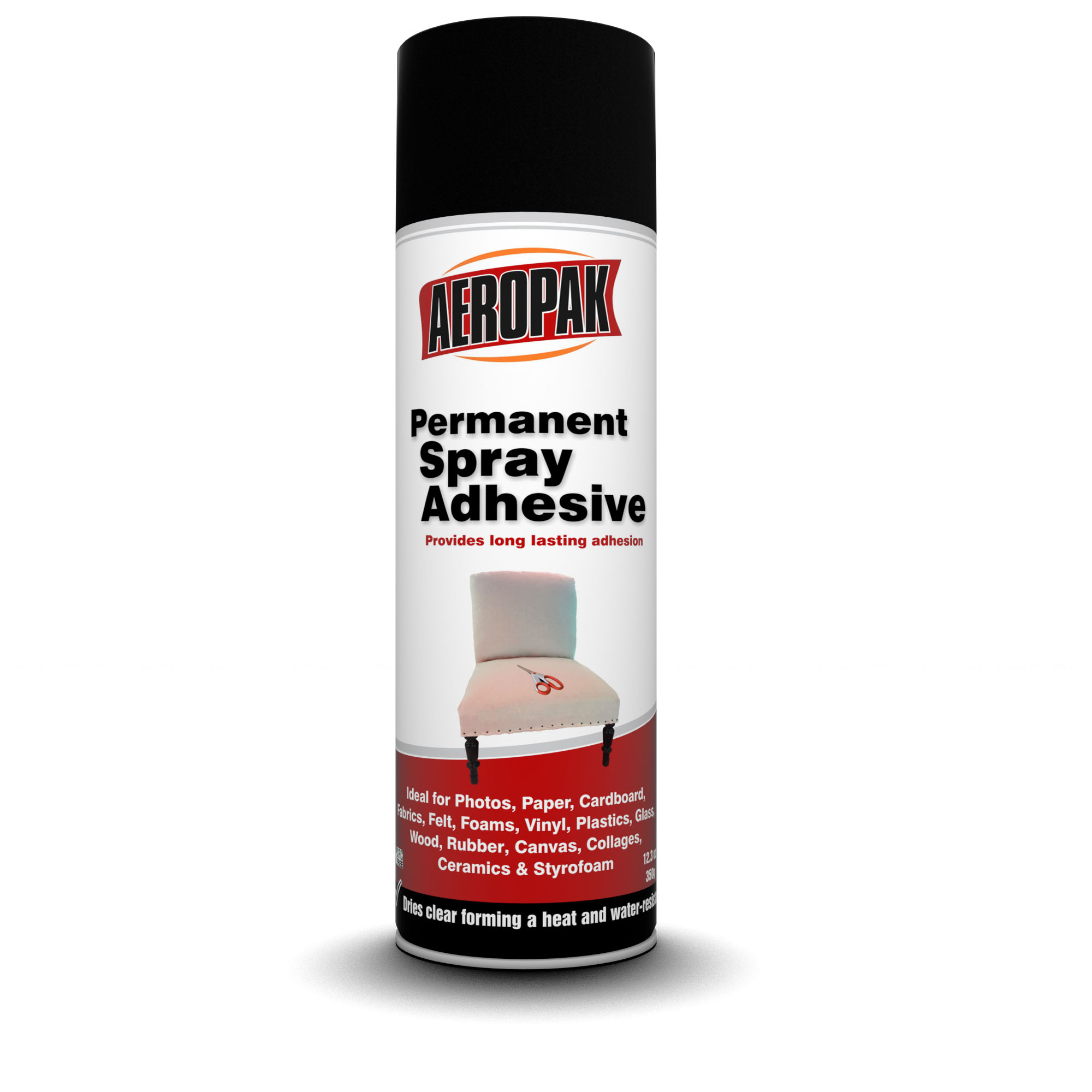 Aeropak Permenant Super Glue Spray