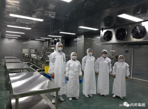 专业、匠心打造净菜中央厨房,提供安心、健康的食品