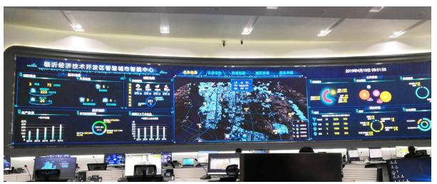 三思LED小间距助力临沂打造大数据中心