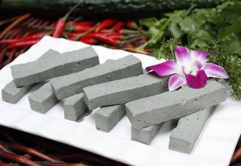 手工黑豆腐