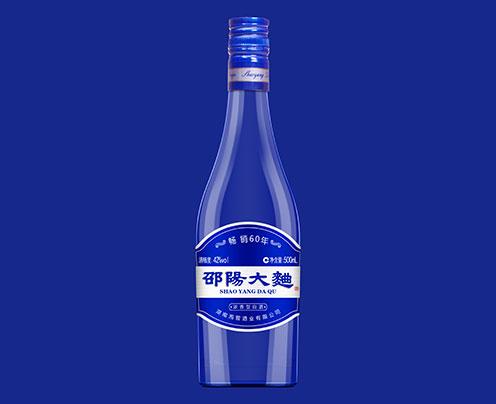42°邵阳大曲酒·蓝瓶 500mL