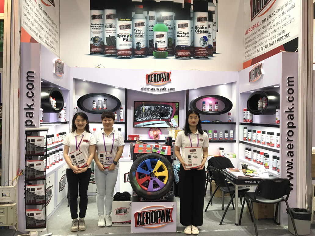 Aeropak in 122 Canton Fair 14.4.D12-13