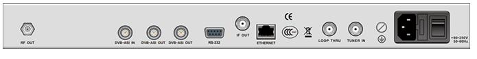 DCH-3000TM专业数字电视 QAM 调制器