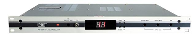 4000MUV捷变式邻频调制器