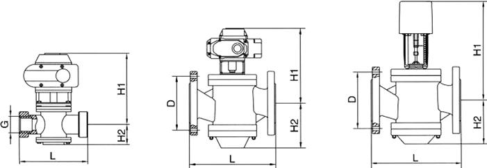 进口动态平衡电动调节阀