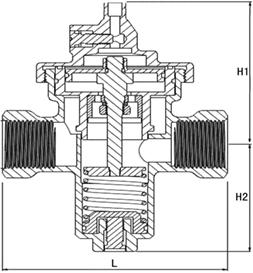 进口自力式流量控制阀