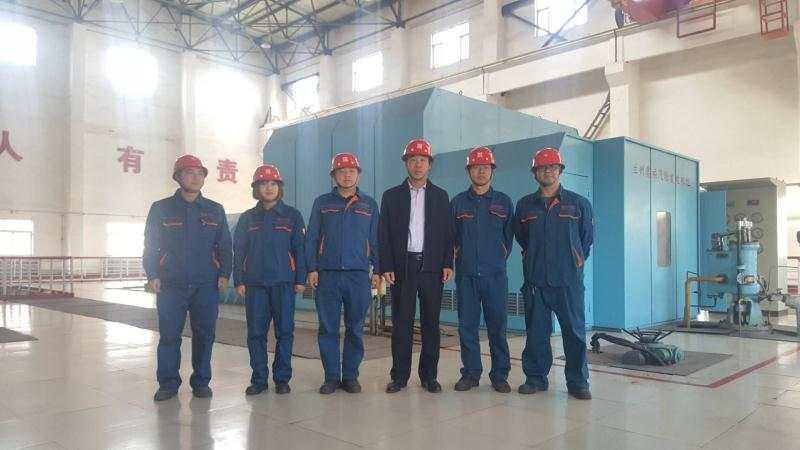 奥福集团董事长闫庆林到兰州奥福分公司视察