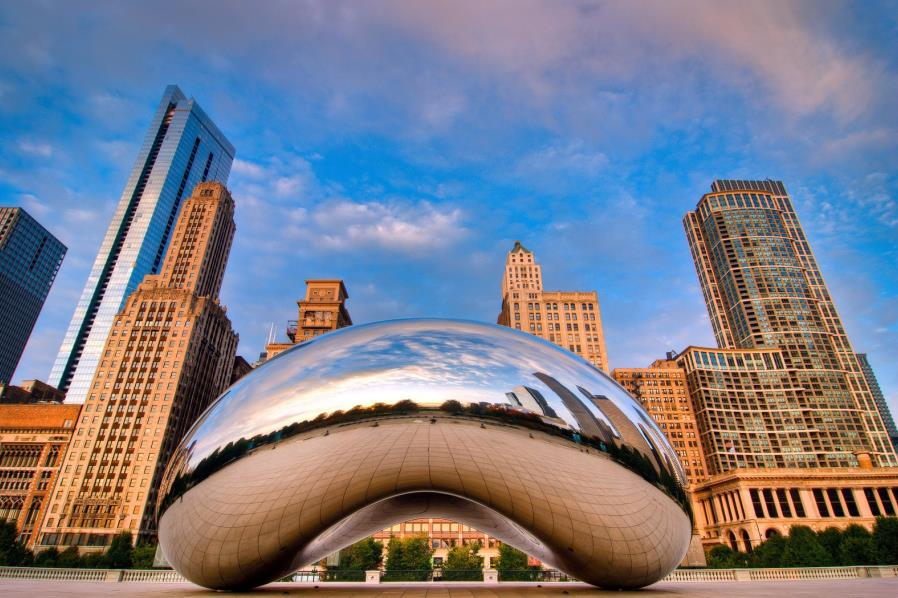 美国东西岸+芝加哥12天精品豪华游