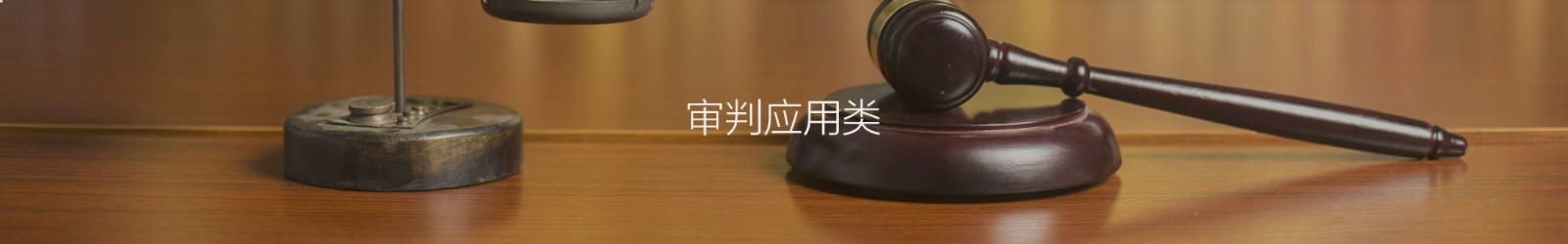 审判应用类