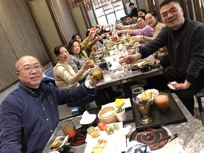 樱得飞2019年1月21日~22日举办年会活动