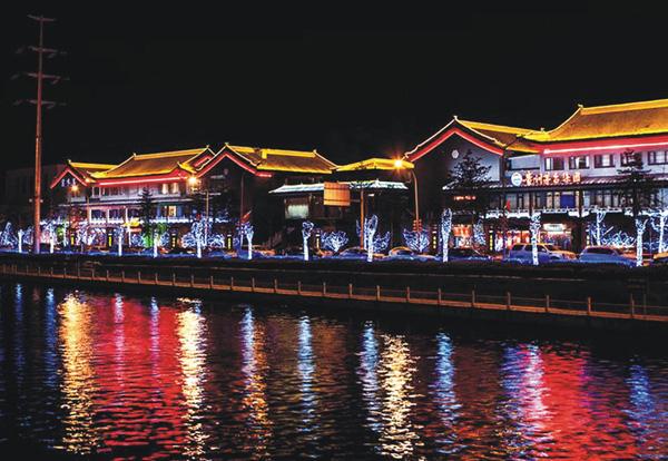 北京通惠河畔