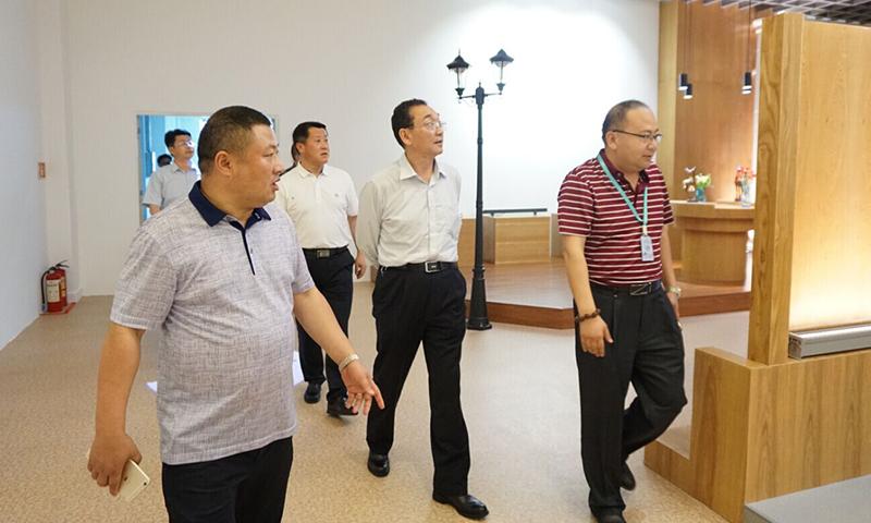 河南省商城县委李书记及县委领导一行莅临我司考察指导