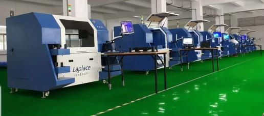 Laplace激光裂片机助推L公司N型高效双玻双面切半组件量产