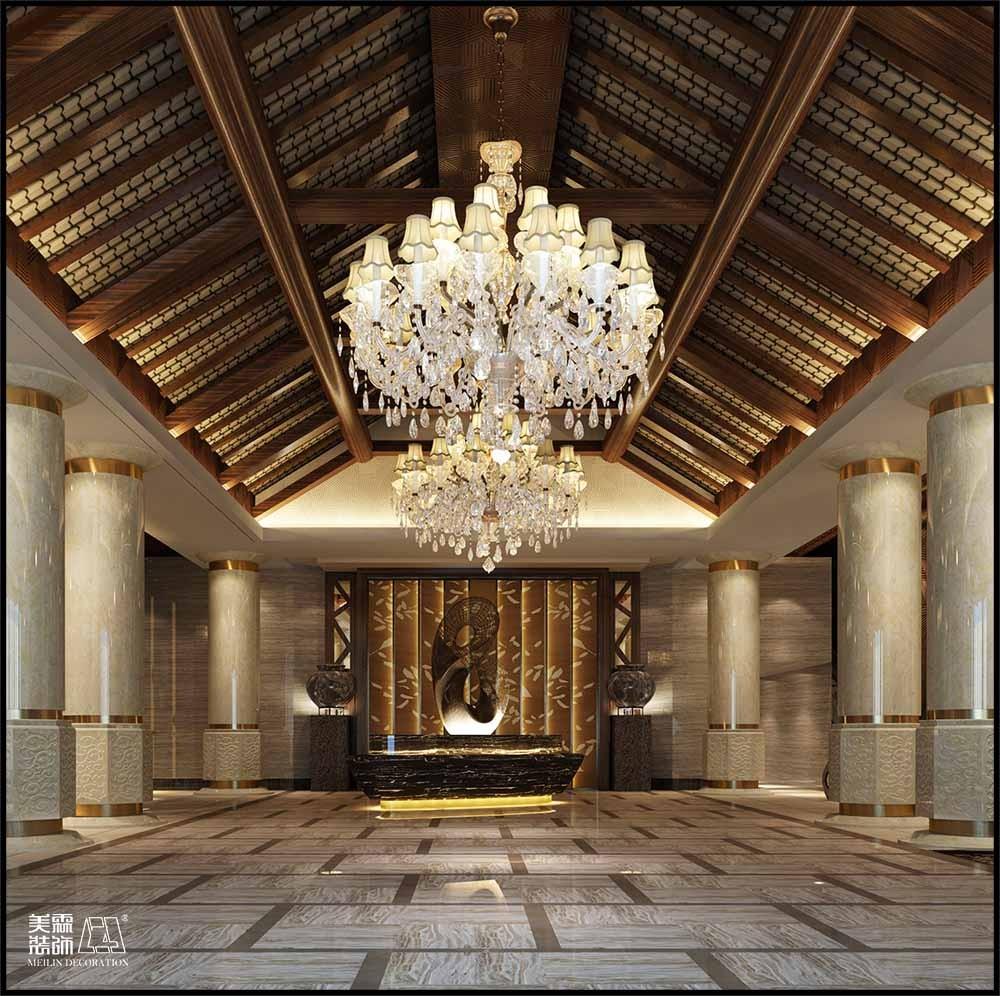 西安金沙河酒店设计