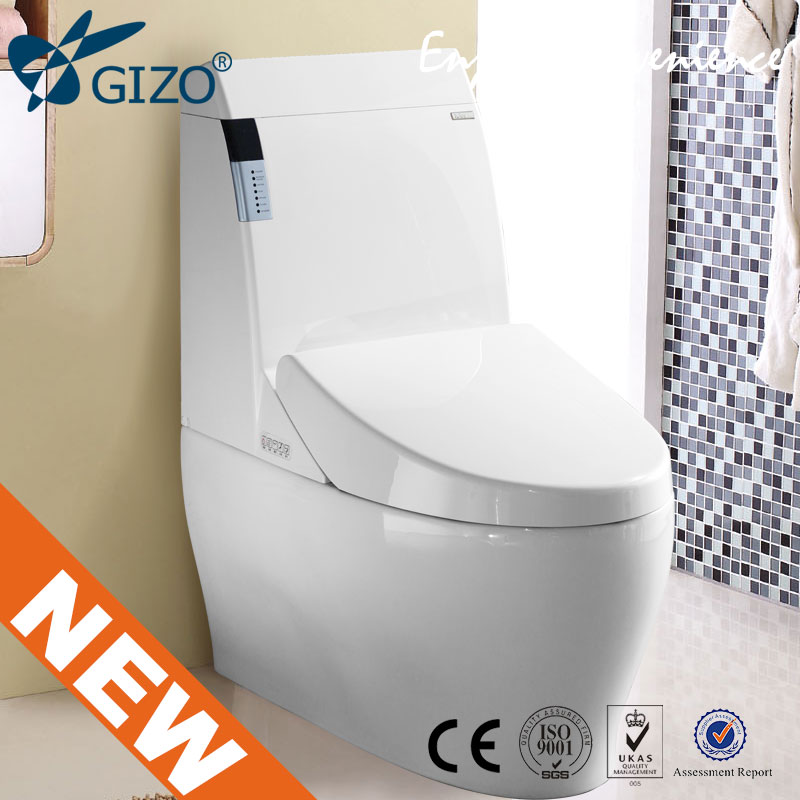 GIZO JJ-0802z Multi-function fully automatic flushing water saving smart toilet