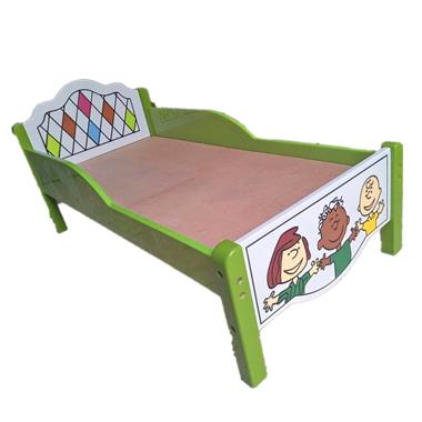儿童单人卡通小床