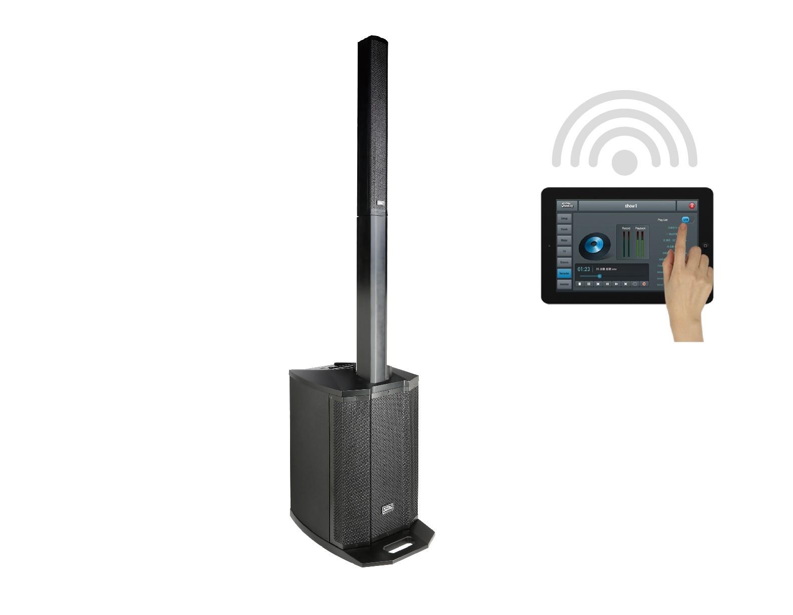 ARTOS 1200 D system with digital mixer