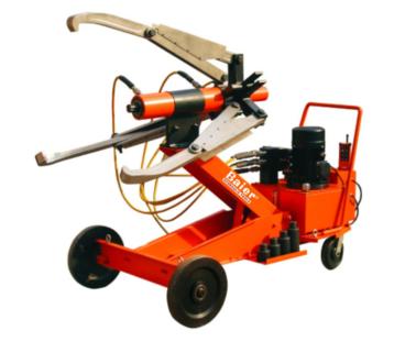 拜尔全自动车载式液压拉马服务于火电行业