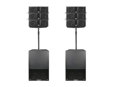 三分頻6.5″流動線陣音響系統 LT06M
