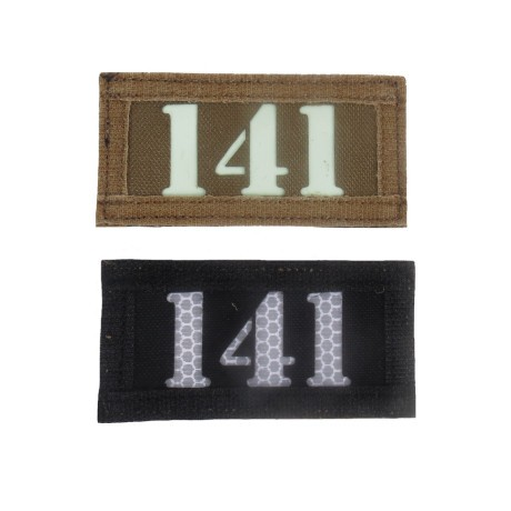 TF141 Double Sides Call Sign Patch