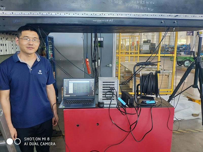 机床部分机械性能测试--无锡大力神重型机床有限公司