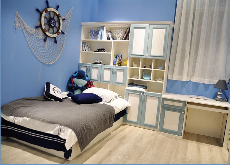 温莎蓝儿童房