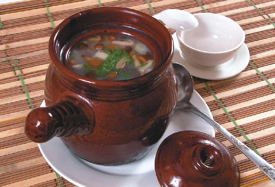 菌汤罐罐面