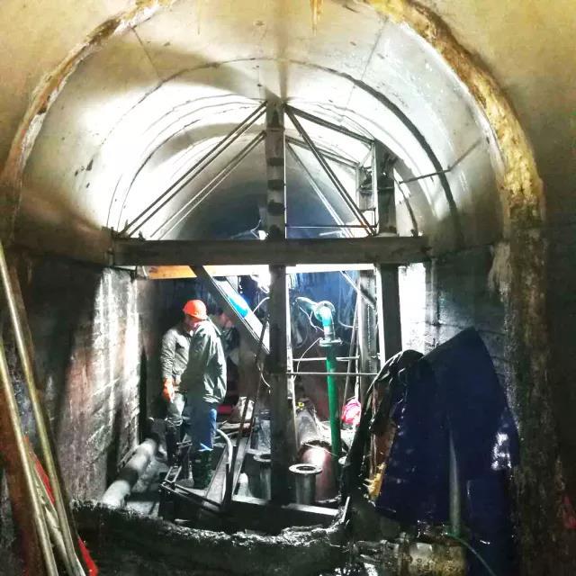 紧水滩电站大坝导流洞堵头渗漏水处理项目圆满完工