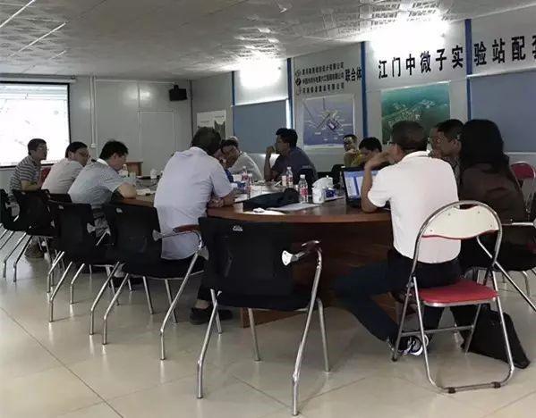 中科院院士莅临江门中微子实验站配套基建工程EPC项目视察工作