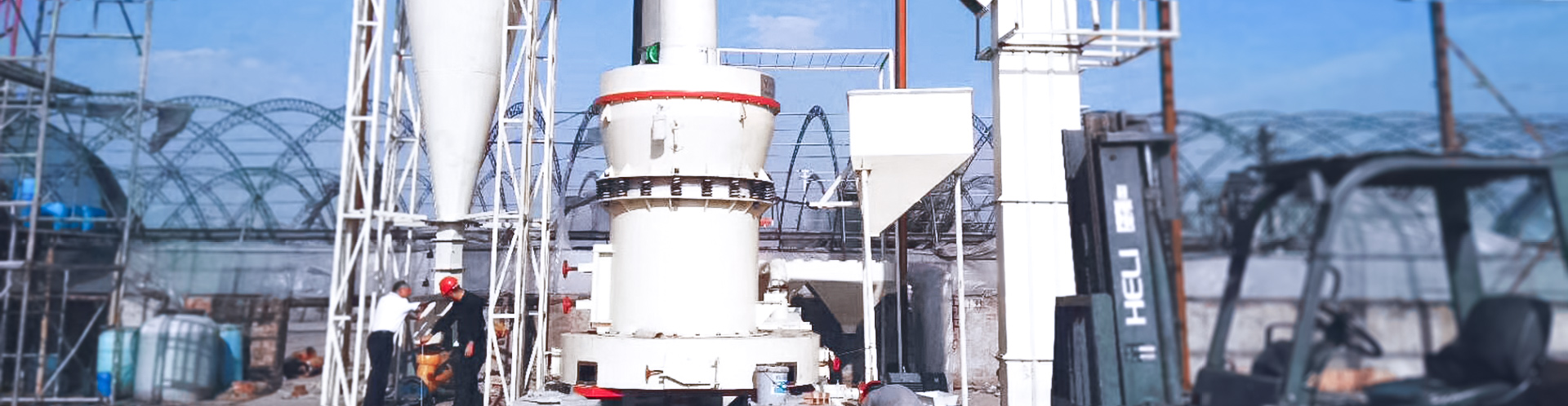 3 t/h limestone grinding powder production line in Zambia, Africa