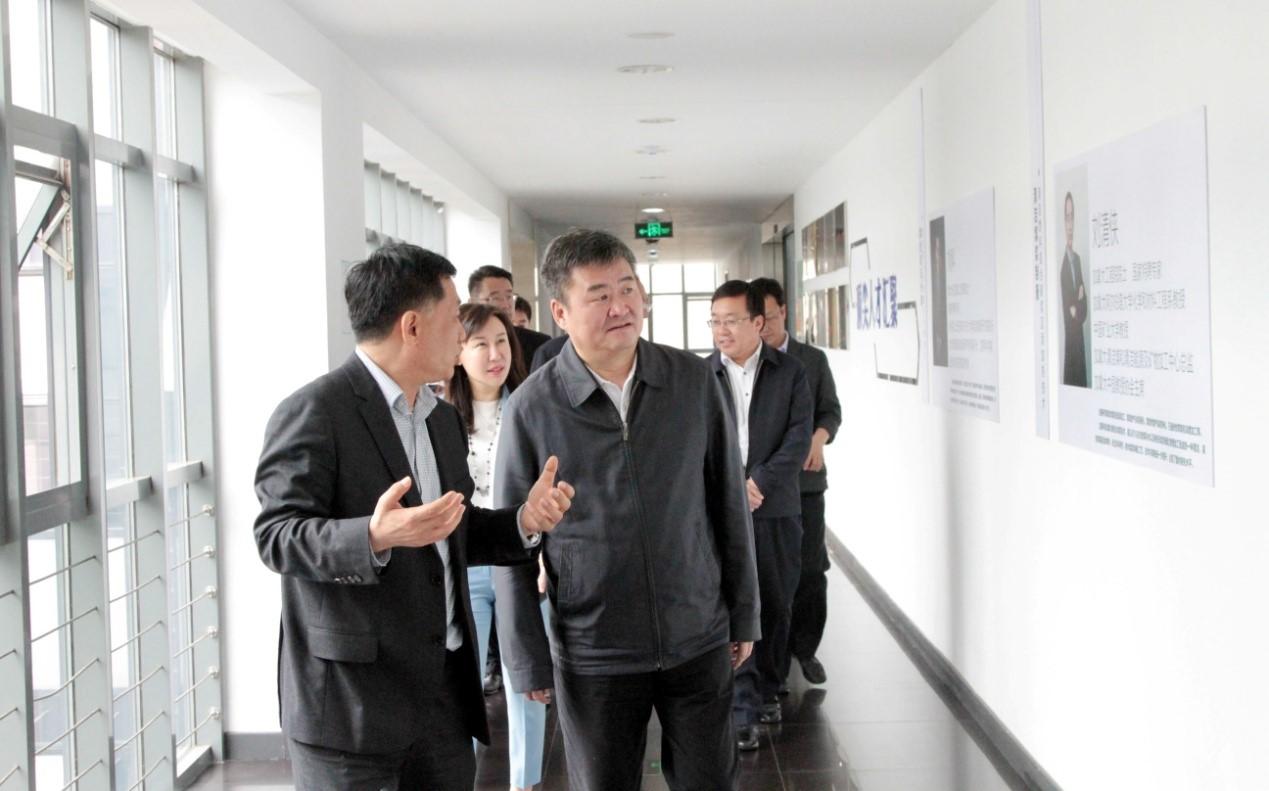 内蒙古通辽市考察团到福彩3d开机号环保集团考察调研