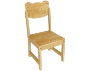 七彩-狗熊造型椅子