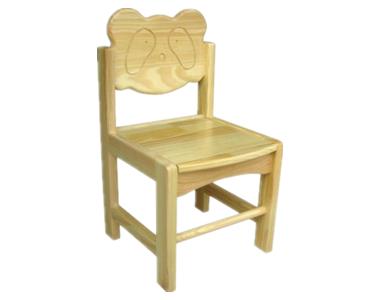 七彩-熊猫造型椅子