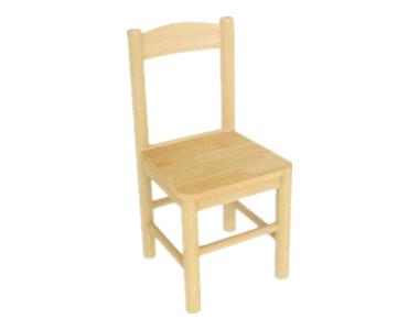 七彩-实木圆柱椅子
