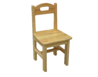 七彩-提手实木椅子