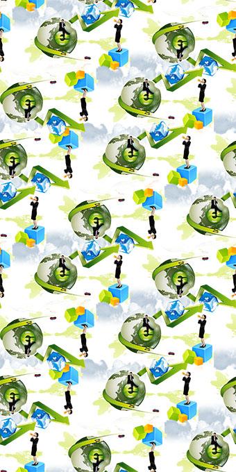 地球广告宣传海报