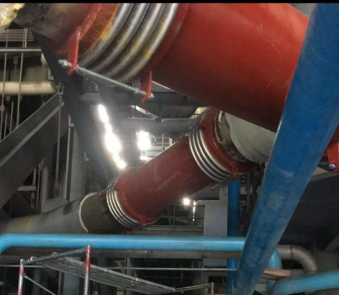 正确安装补偿器才能有效发挥其在电厂蒸汽管道中作用