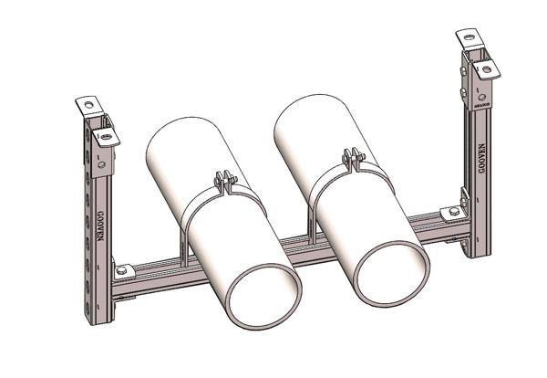 双管刚性龙门