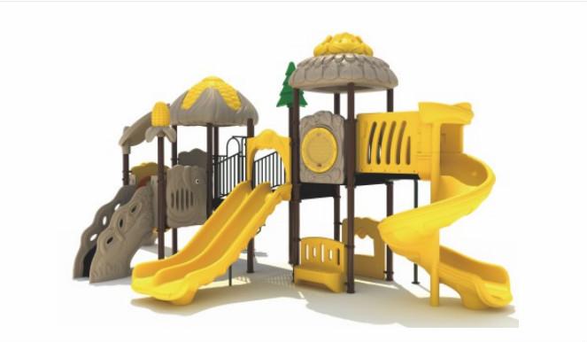 怎样挑选幼儿园组合滑梯?