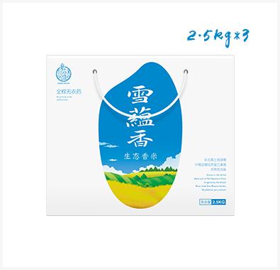 雪蕴香生态香米【月度装】