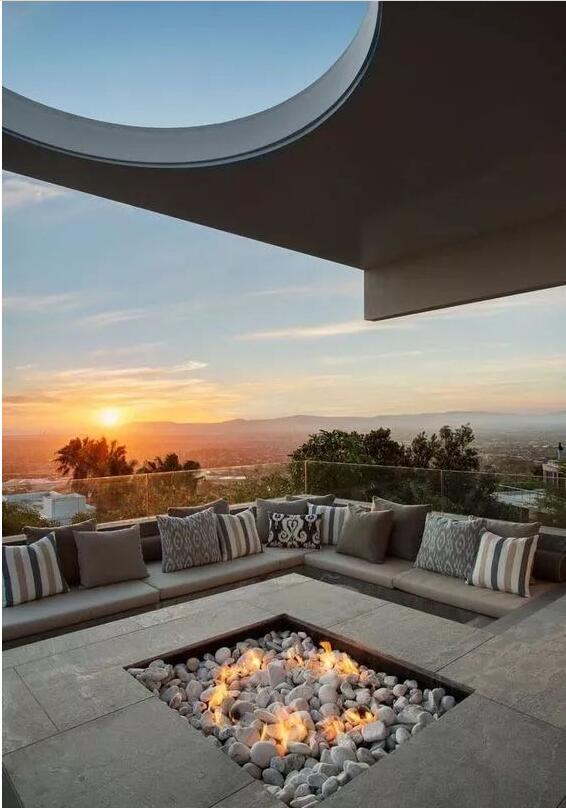 下沉式庭院景观设计,给与众不同的你一个新选择