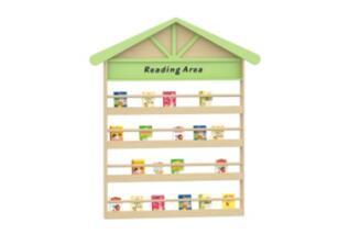 FY-墙面房屋书架