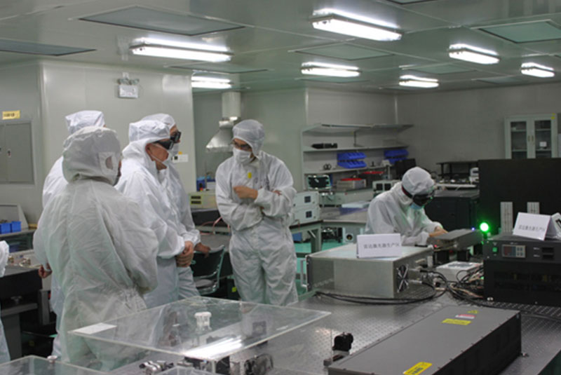 Cao Jianlin, Vice Minister of Science and Technology visited