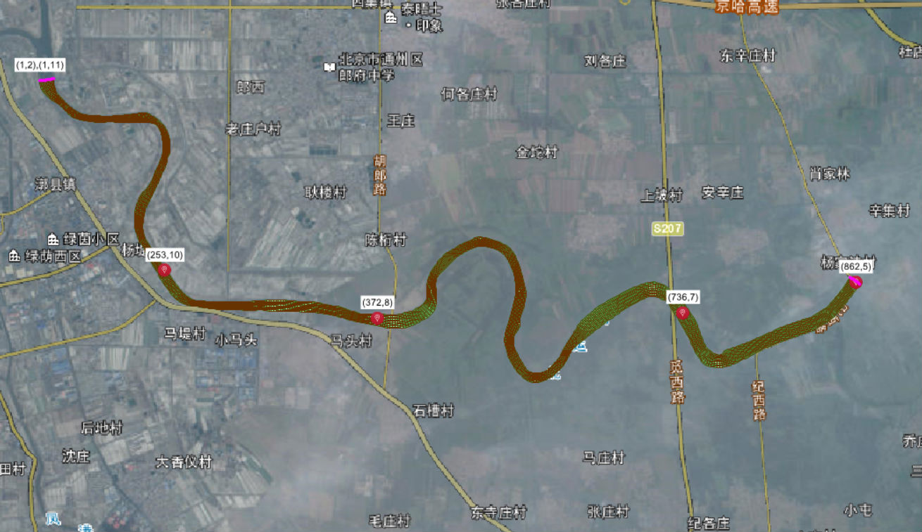 北京通州北运河水动力水质模型验证